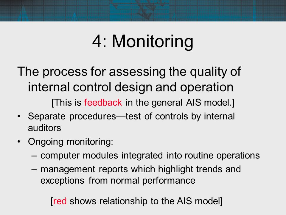 [This is feedback in the general AIS model.]